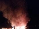 Itagimirim: incêndio queima barracas juninas no centro