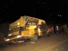 Ônibus com evangélicos capota em rodovia baiana e deixa 03 mortos e mais de 10 feridos