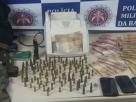 Operação conjunta culmina na prisão de integrante de bando criminoso em Porto Seguro; chefão foge e a polícia apreende farta quantidade de munições