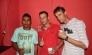 Itapebi: Aniversariantes comemoraram aniversario com soldado Romildo Silva