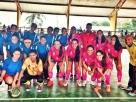 Itapebi: A seleção feminina de futsal vence jogo amistoso