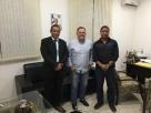 Prefeito Neto Guerrieri se reúne com juiz da Vara Crime e comandante da PM para discutirem segurança pública