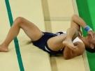 Imagem forte: ginasta francês sofre fratura grave em queda após salto na Rio 2016