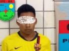 Caema surpreende rapaz postando imagens com arma e droga em rede social