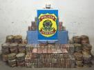 PF apreende 810 kg de cocaína e prende três pessoas