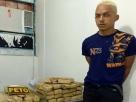 Caetité: Homem preso com 40 kg de maconha foge da delegacia pouco depois da detenção