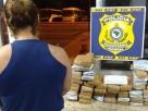 Mulher é presa com quase 40 kg de droga dentro de ônibus no interior da Bahia