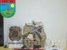 Ação conjunta da policia Militar e Policia Federal tem saldo de um morto, drogas e armas aprendidas em Porto Seguro