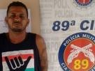 """Traficante mineiro é preso PM pela de Itabatã com 200 gramas de """"maconha"""""""