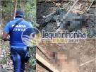 Eunápolis:Polícia Civil descobre cemitério clandestino: Dois corpos foram encontrados
