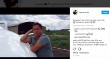 Jatinho do cantor Leonardo atola em pista do aeroporto de Barreiras e artista brinca em rede social: 'Acontece de tudo'
