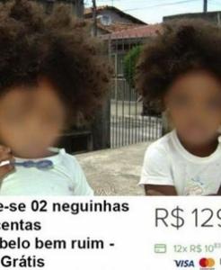 Pai é denunciado e preso após anunciar venda de filhas 'negras' gêmeas pela internet