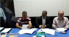 Itapebi:Município participa de reunião sobre Plano de Saneamento Básico