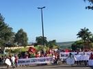 MST interdita vários trechos da BR-101 em protesto a favor de Lula