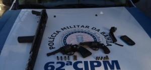 Trés homens acusados de de crimes foram mortos em confronto com a policia