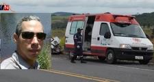 ITAMARAJU | Irmão de vereador fica ferido em grave acidente na BR-101