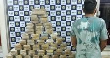PRF prende homem transportando 100 kg de crack em Vitória da Conquista