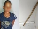 Bahia: Menor usuário de droga tenta matar o pai a pauladas
