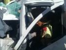 Grave acidente deixa um morto e uma mulher ferida na BR 101