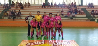 Itapebi:Seleção feminina de futsal vence mais uma vez em partida em Eunápolis e segue na competição