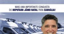 MAIS UMA IMPORTANTE CONQUISTA DO DEPUTADO JÂNIO NATAL PARA CABRÁLIA