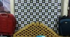 Vitória da Conquista: passageira de ônibus é presa pela PRF com 54 kg de drogas