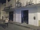 Bandidos explodem agência da Caixa e interditam rodovia entre Barrolândia e Belmonte