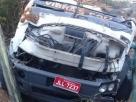 Teixeira de Freitas: Acidente com caminhão de empresa de sonorização deixa um morto e dois feridos