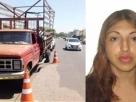 Tristeza: Mulher se assusta com falta de freio e morre ao pular de caminhão com bebê nos braços
