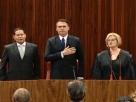 Bolsonaro e Mourão são diplomados em solenidade no TSE