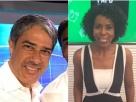 Bonner parabeniza Maju por novo cargo no Jornal Nacional