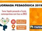 ITAPEBI:Prefeitura divulga programação da Jornada Pedagógica 2019