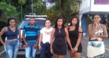 Cinco mulheres são presas após tentativa de roubo em Itapuã