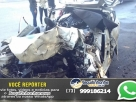 Família morre após bloco de granito cair sobre carro em que viajavam na BR 101