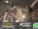 Homem morre após motocicleta em que estava ser atingida por carro